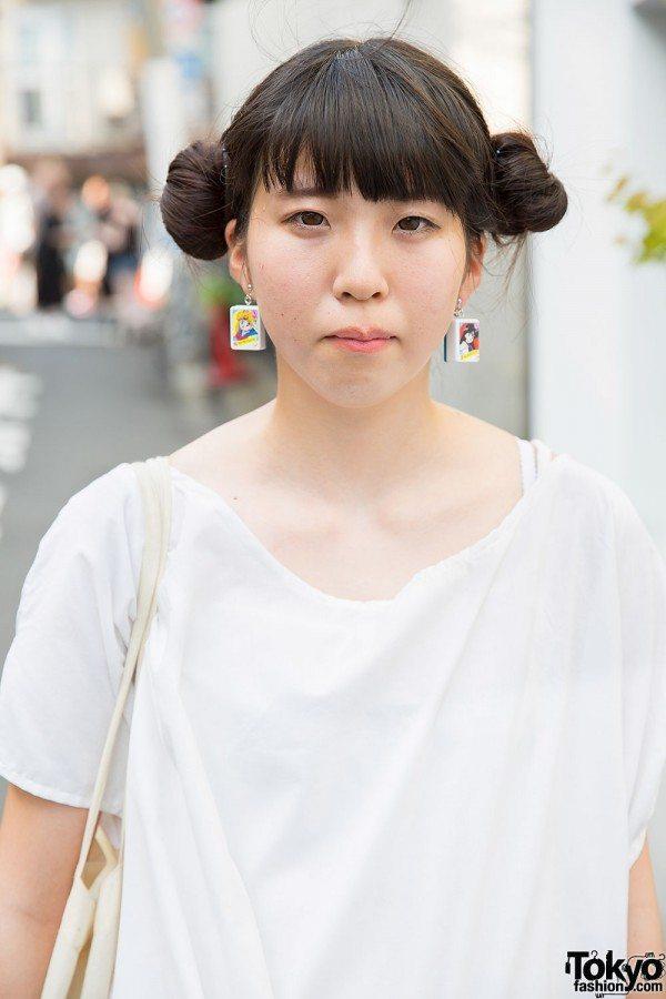 Brincos inspirados em mangás, Japão nê